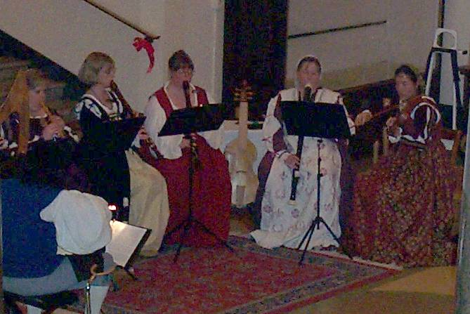 High Bridge Consort at Alexandria First Night 2002